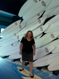 This is about the closest I will get to surfing!