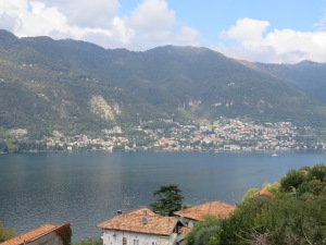 The view of Lake Como from Blevio.