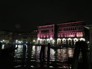 Venice at night!