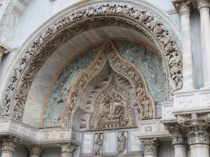 The Basilica de San Marco.  The details and the beauty were unparalleled!  Wish I had been allowed to take pictures inside!